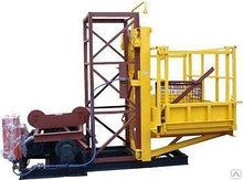 Подъемник грузовой мачтовый строительный 1500 кг максимальная высота 100 м