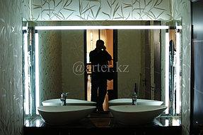 Зеркало с подсветкой по периметру 1