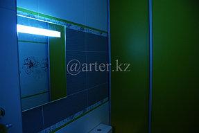 Зеркало с подсветкой над раковиной 1