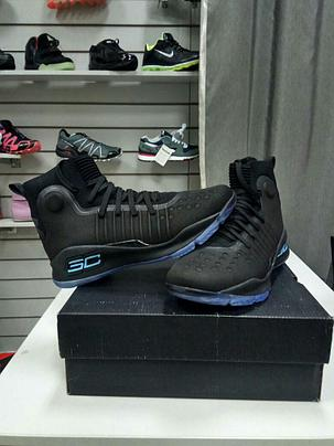 Баскетбольные кроссовки Under Armour Curry four IV ( 4 ) from Stephen Curry black , фото 2