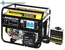 Бензиновый генератор Firman SPG6500E1 ATS