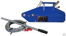 Лебедка ручная рычажная механизм тяговый монтажный мтм грузоподъемность 1.6 т высота 20 м