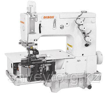 Четырехигольная шестиниточная швейная машина цепного стежка Dison DS-2000C
