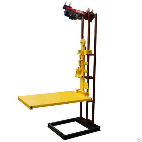 Подъемник малый грузовой для магазинов кафе офисов домов 50-200 кг