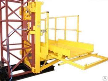 Подъемник грузовой мачтовый пмг-1-б-76103-02 высота от 10 м до 100 м
