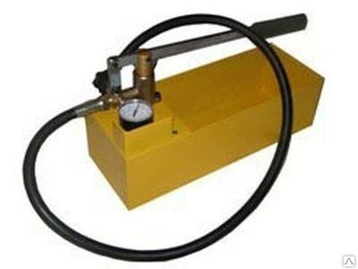 Насос для опрессовки ручной нир-60