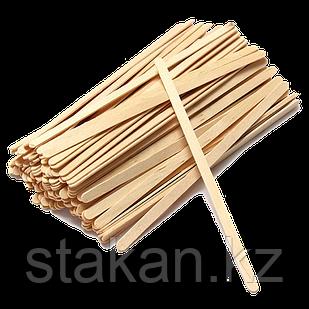 Деревянный размешиватель 175 мм