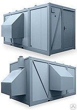 Блок-контейнер для электростанций