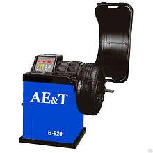 Станок балансировочный AE&T до 65 кг. 10-24 для литых колес (автоввод 2 П.)