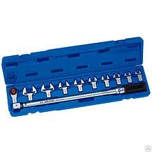 Ключ динамометрический King Tony 1/2″ 40-200 НМ (с набором насадок)