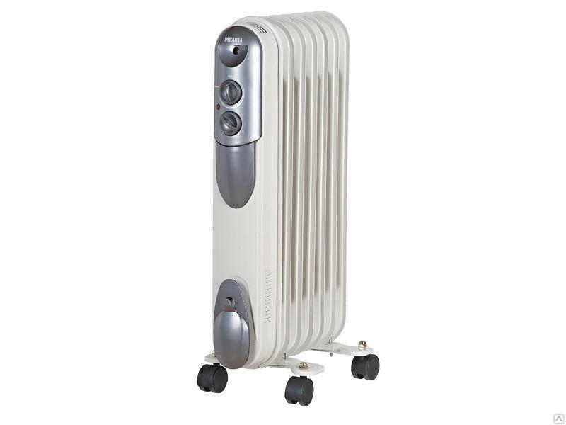Масляный радиатор обогреватель ОМПТ- 7Н 1,5 кВт 7 секций