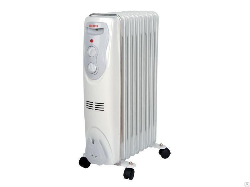 Масляный обогреватель электрический ОМ- 9Н 2 кВт