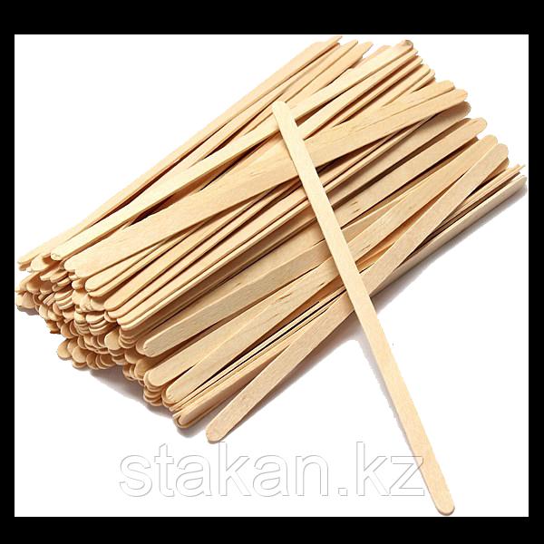 Деревянный размешиватель 140 мм