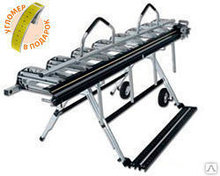 Листогиб Tapco MAX-20-14 4,42 м со стойкой и роликовым ножом