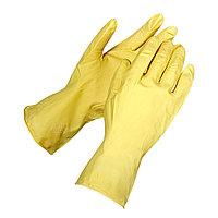 Перчатки гелевые  резиновые, хозяйственные, размер L