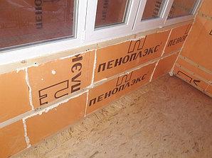 Утепление балкона с обшивкой декор панелью Акбулак 3 20