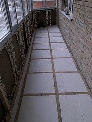 Утепление балкона с обшивкой декор панелью Акбулак 3 14