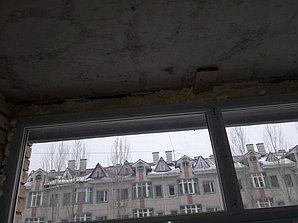 Утепление балкона с обшивкой декор панелью Акбулак 3 32