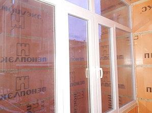 Двойное утепление стен и потолка. К счастью площадь балкона позволяет забрать сантиметры для двойного утепления.