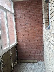 Утепление балкона с обшивкой декор панелью Акбулак 3 6