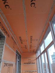 Утепление балкона с обшивкой декор панелью Акбулак 3 28
