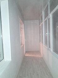 Утепление балкона с обшивкой декор панелью Акбулак 3 42