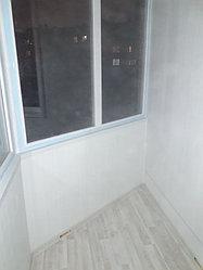 Утепление балкона с обшивкой декор панелью Акбулак 3 44
