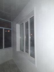 Утепление балкона с обшивкой декор панелью Акбулак 3 45