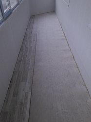 Утепление балкона с обшивкой декор панелью Акбулак 3 35