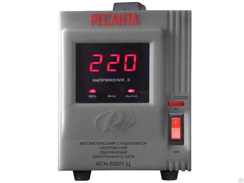 Стабилизатор АСН-500/1-Ц однофазный