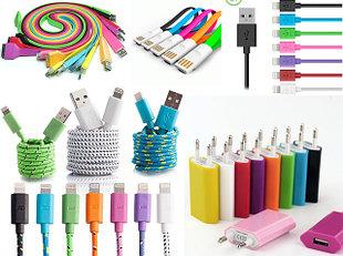 Кабели и провода, зарядные USB кабеля, переходники (зарядки) для телефонов
