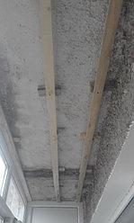 Установка балконной рамы с обшивкой балкона по всему периметру. ул. Бесекпаева 3 22