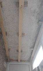 Установка балконной рамы с обшивкой балкона по всему периметру. ул. Бесекпаева 3 24