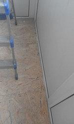 Установка балконной рамы с обшивкой балкона по всему периметру. ул. Бесекпаева 3 27