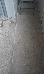 Установка балконной рамы с обшивкой балкона по всему периметру. ул. Бесекпаева 3 29