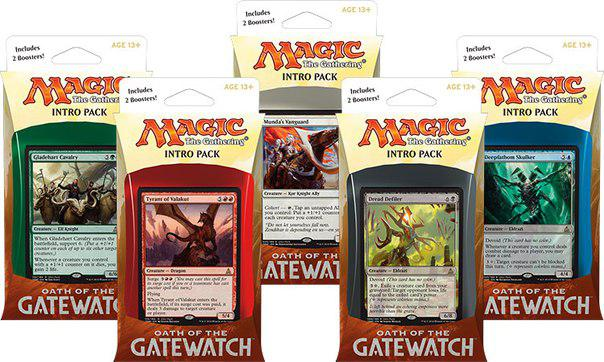 МТГ (АНГЛ): Клятва Стражей (Oath Of The Gatewatch): Начальный набор
