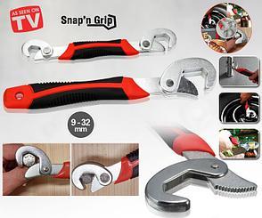 Набор гаечных ключей Snap n Grip + отвертка с 6 насадками, фото 2