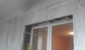 Ремонт лоджии по адресу ул. Момышулы 12 32