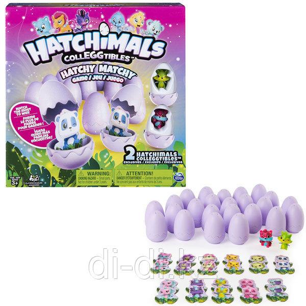 Настольная игра Hatchimals memory + 2 коллекционные фигурки
