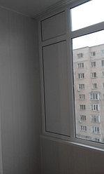 Обшивка балкона декоративной панелью по ул. Павлова 20 2