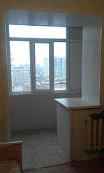 Обшивка балкона декоративной панелью по ул. Павлова 20 7
