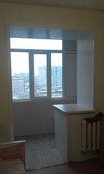 Обшивка балкона декоративной панелью по ул. Павлова 20 11