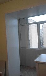 Обшивка балкона декоративной панелью по ул. Павлова 20 21