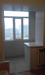 Обшивка балкона декоративной панелью по ул. Павлова 20 23