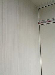 Установка балконного витража с обшивкой стен декоративной панелью по адресу проспект Республики 11 29