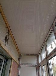 Установка балконного витража с обшивкой стен декоративной панелью по адресу проспект Республики 11 17