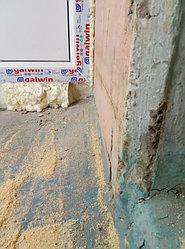 Установка балконного витража с обшивкой стен декоративной панелью по адресу проспект Республики 11 2