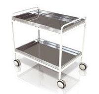 Тележка для транспортировки пищи и сбора посуды