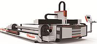 Оборудование для волоконной лазерной резки плит и труб 3 метра / 6 метров (XTC-FT3000/6000), фото 1