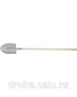 Лопата штыковая СИБИН 285х205х1420мм, черенок 1 сорт, 39508_z01